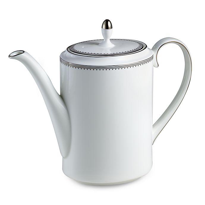 Alternate image 1 for Vera Wang Wedgwood® Grosgrain Coffeepot