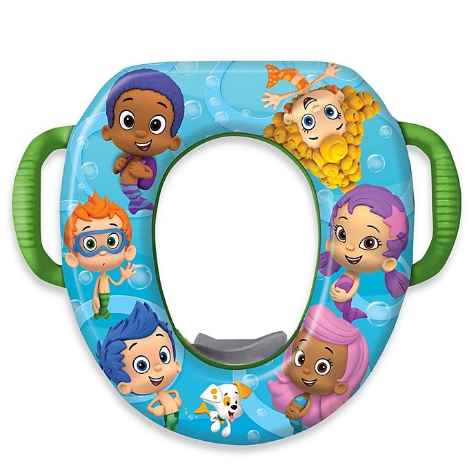 Alternate image 1 for Nickelodeon Bubble Guppies Soft Potty Seat