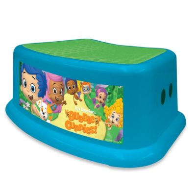 Nickelodeon Bubble Guppies Step Stool Bed Bath And