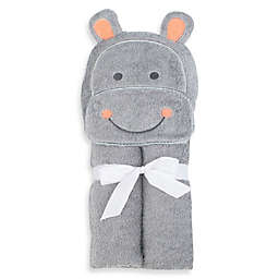 Just Bath by Just Born™ Love to Bathe Hippo Hooded Towel in Grey