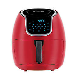 Power XL 7 qt. Vortex Air Fryer in Red