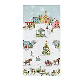 Creative Converting Hometowen Holidays 20-Pack Guest Towels