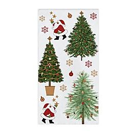 Creative Converting Santas Trees 20-Pack Guest Towels