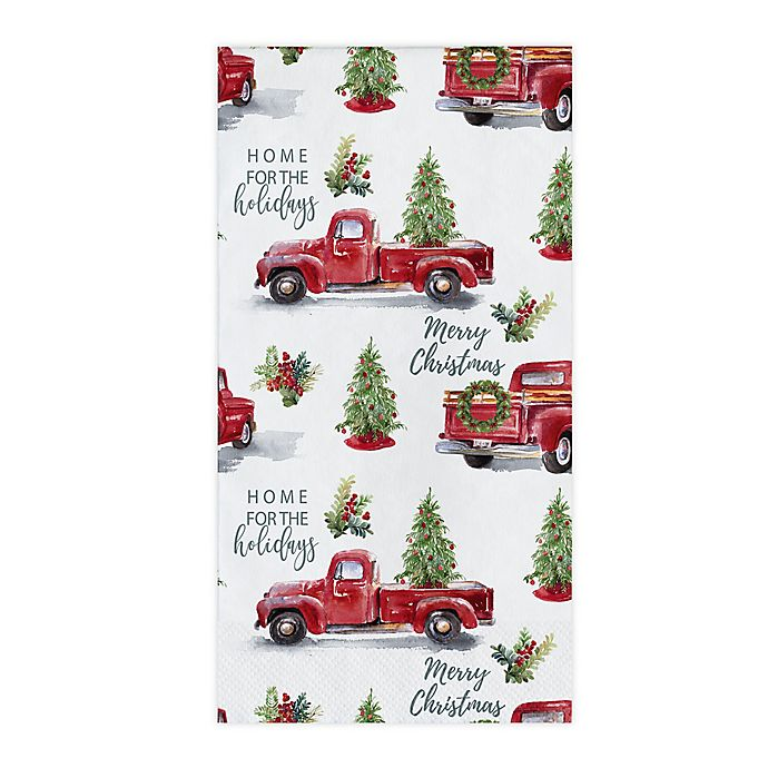 Alternate image 1 for Creative Converting Wintertime Joy 20-Pack Guest Towels