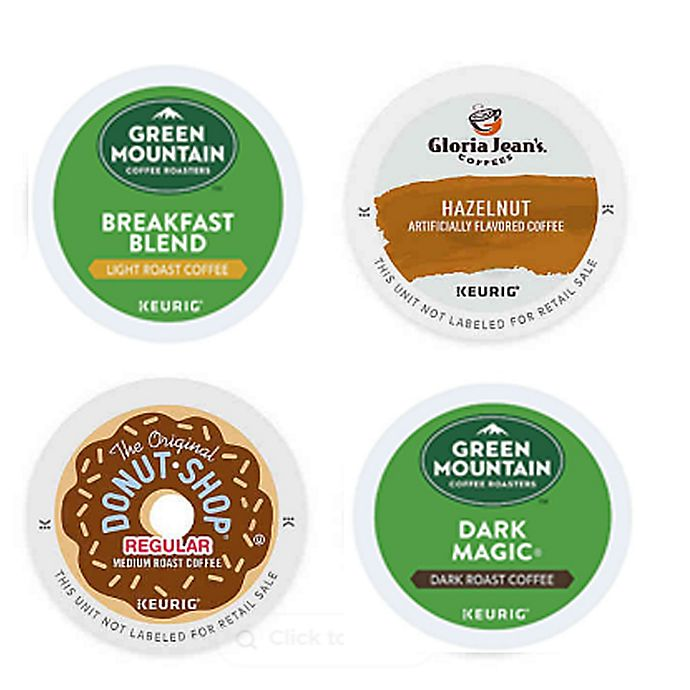 Alternate image 1 for Keurig® K-Cup® Pods Coffee Value Pack Collection