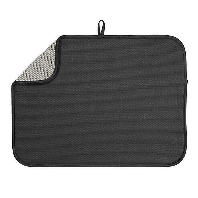 Alternate image 1 for The Original™ XL Dish Drying Mat in Black