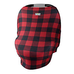 Itzy Ritzy® Mom Boss 4-in-1 Multi-Use Cover in Buffalo Plaid