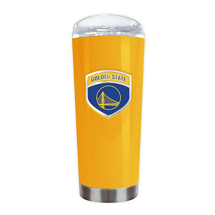 Alternate image 1 for NBA Golden State Warriors 18 oz. Roadie Insulated Travel Tumbler
