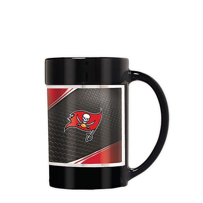 Tampa Bay Buccaneers Coffee Mug 14oz Black