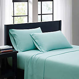 SALT™ Microfiber Queen Sheet Set in Aqua