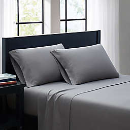 SALT™ Microfiber King Sheet Set in Grey