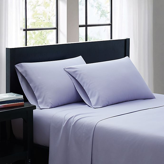 Alternate image 1 for SALT™ Microfiber Standard/Queen Pillowcases in Lavender (Set of 2)