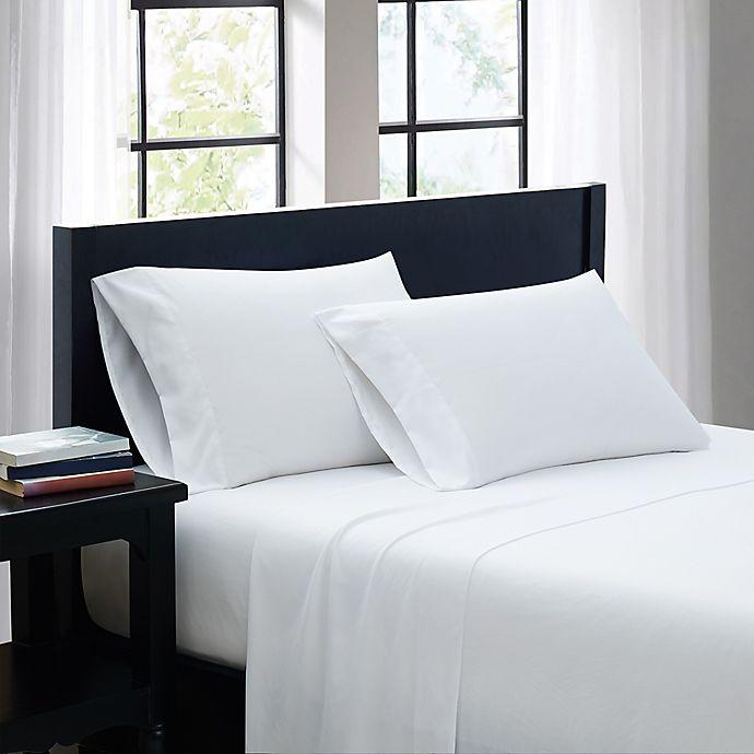 Alternate image 1 for SALT™ Microfiber Standard/Queen Pillowcases in White (Set of 2)