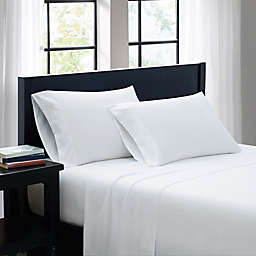 SALT™ Microfiber Queen Sheet Set in White