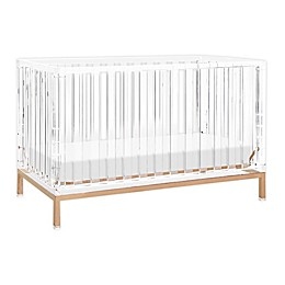 Nursery Works™ Acrylic Luma Crib in Rose Gold