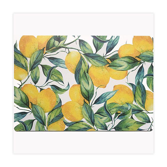 Alternate image 1 for Lemon Motif Placemat