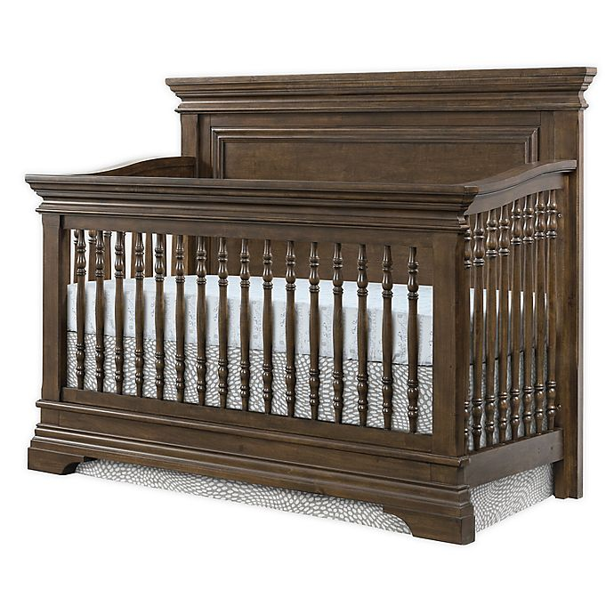 Alternate image 1 for Olivia Flat Top Crib in Rosewood