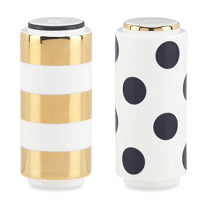 Alternate image 1 for kate spade new york Fairmount Park™ Salt and Pepper Shakers (Set of 2)