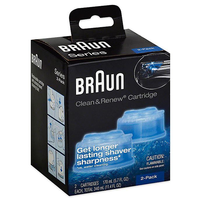 Alternate image 1 for Braun® Clean & Renew Refill Cartridges (Set of 2)