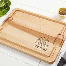 Bee & Willow™ Home Beehive Personalized Maple Cutting Board Collection