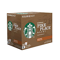 Starbucks® Pike Place® Roast Coffee Value Pack Keurig® K-Cup® Pods 40-Count
