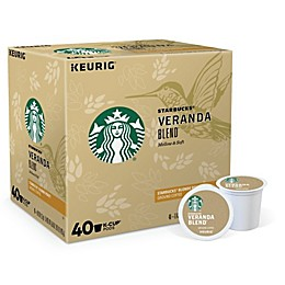 Starbucks® Veranda Blend Blonde Coffee Value Pack Keurig® K-Cup® Pods 40-Count