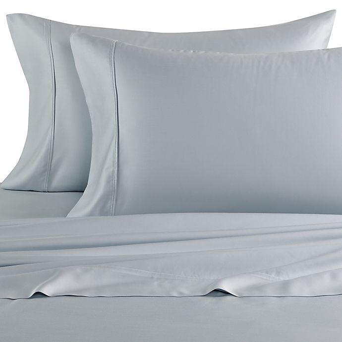 Alternate image 1 for Eucalyptus Origins™ Tencel Lyocell 600-Thread-Count King Pillowcases in Light Blue (Set of 2)
