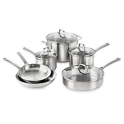 Calphalon® Classic Stainless Steel 10-Piece Cookware Set