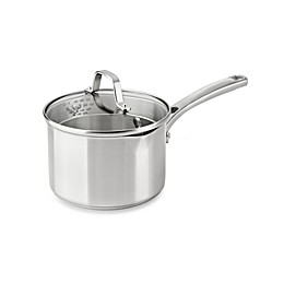 Calphalon® Classic Stainless Steel 2.5 qt. Covered Saucepan