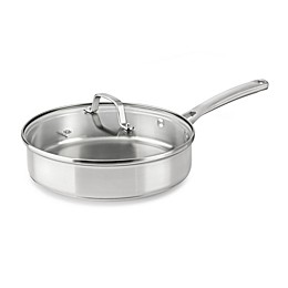 Calphalon® Classic Stainless Steel 3 qt. Covered Saute Pan