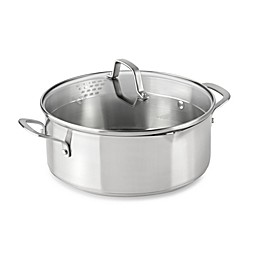 Calphalon® Classic Stainless Steel 5 qt. Covered Dutch Oven
