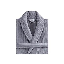 Ozan Premium Home® Line Velvet Luxury Unisex Bathrobe