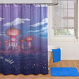 Disney® Aladdin Arabian Nights Shower Curtain and Hooks Set in Purple