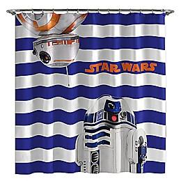 Star Wars™ Droid 72-Inch Shower Curtain