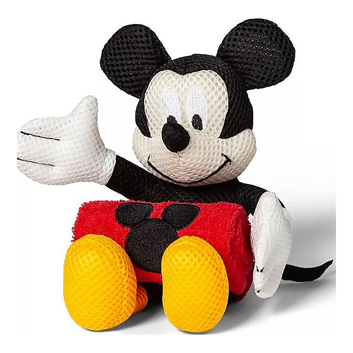 Alternate image 1 for Disney® Mickey Mouse & Friends 2-Piece Bath Buddy and Washcloth Set