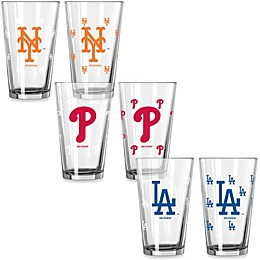 MLB Color Changing Pint Glasses (Set of 2)