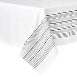 Artisanal Kitchen Supply® Ashbury Tablecloth in White