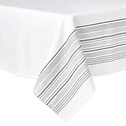 Artisanal Kitchen Supply® Ashbury 60-Inch x 102-Inch Oblong Tablecloth in White