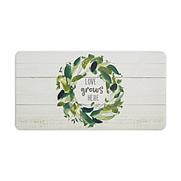 "Home Dynamix Love Grows 20"" x 39"" Comfort Kitchen Mat"