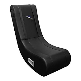 Game Rocker 100 Gaming Chair with Marlin Logo in Black