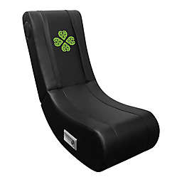 Game Rocker 100 Gaming Chair with Celtic Clover Logo in Black