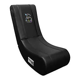Game Rocker 100 Gaming Chair with Music Notes Logo in Black
