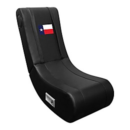 Game Rocker 100 Gaming Chair with Texan Flag in Black