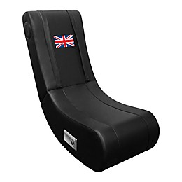 Game Rocker 100 Gaming Chair with British Flag in Black