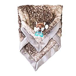 ZALAMOON Jollypop x Raz Baby Luxie Polyester Fox Blanket in Brown