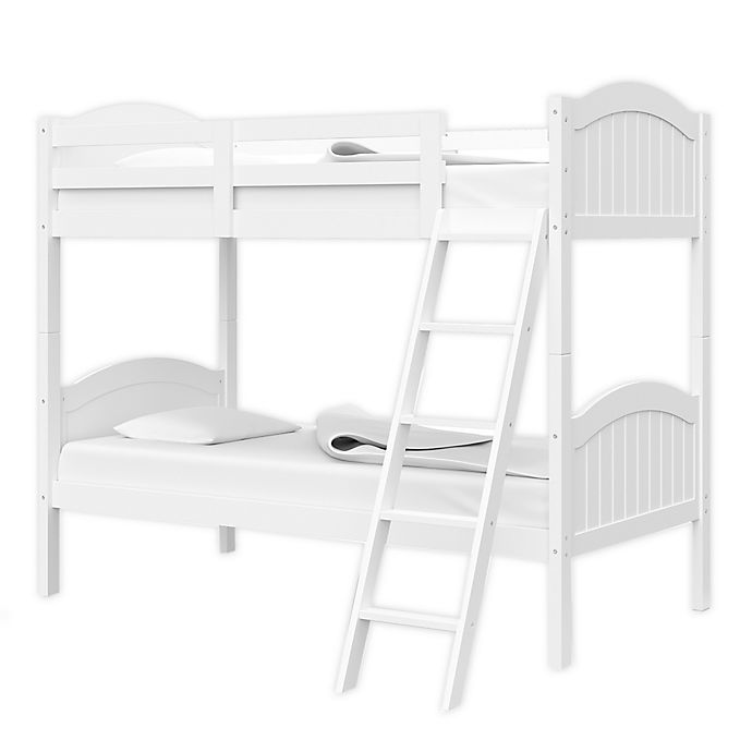 Alternate image 1 for Thomasville Kids Lenox Rubberwood Convertible Twin Bunk Bed in White