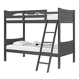 Thomasville Kids Newport Rubberwood Convertible Twin Bunk Bed