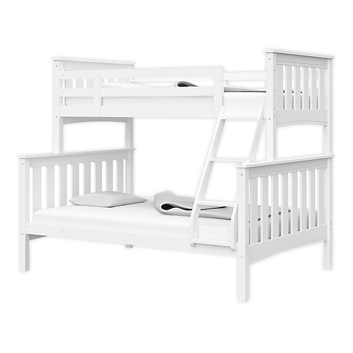 Alternate image 1 for Thomasville Kids® Winslow Twin Over Full Convertible  Bunk Bed in White