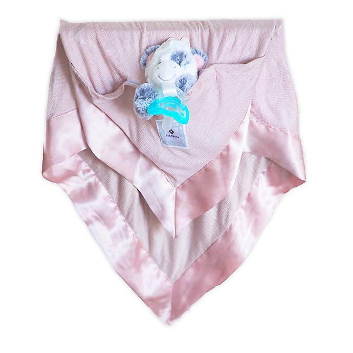 Alternate image 1 for Zalamoon  3 Piece Blanket Gift Set in Mauve