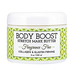 basq Body Boost 8 oz. Fragrance-Free Stretch Mark Butter